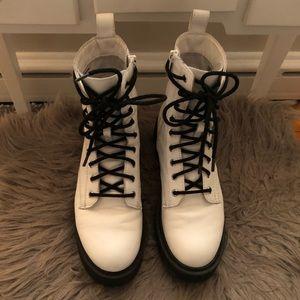 Steve Madden Tornado Combat Boots